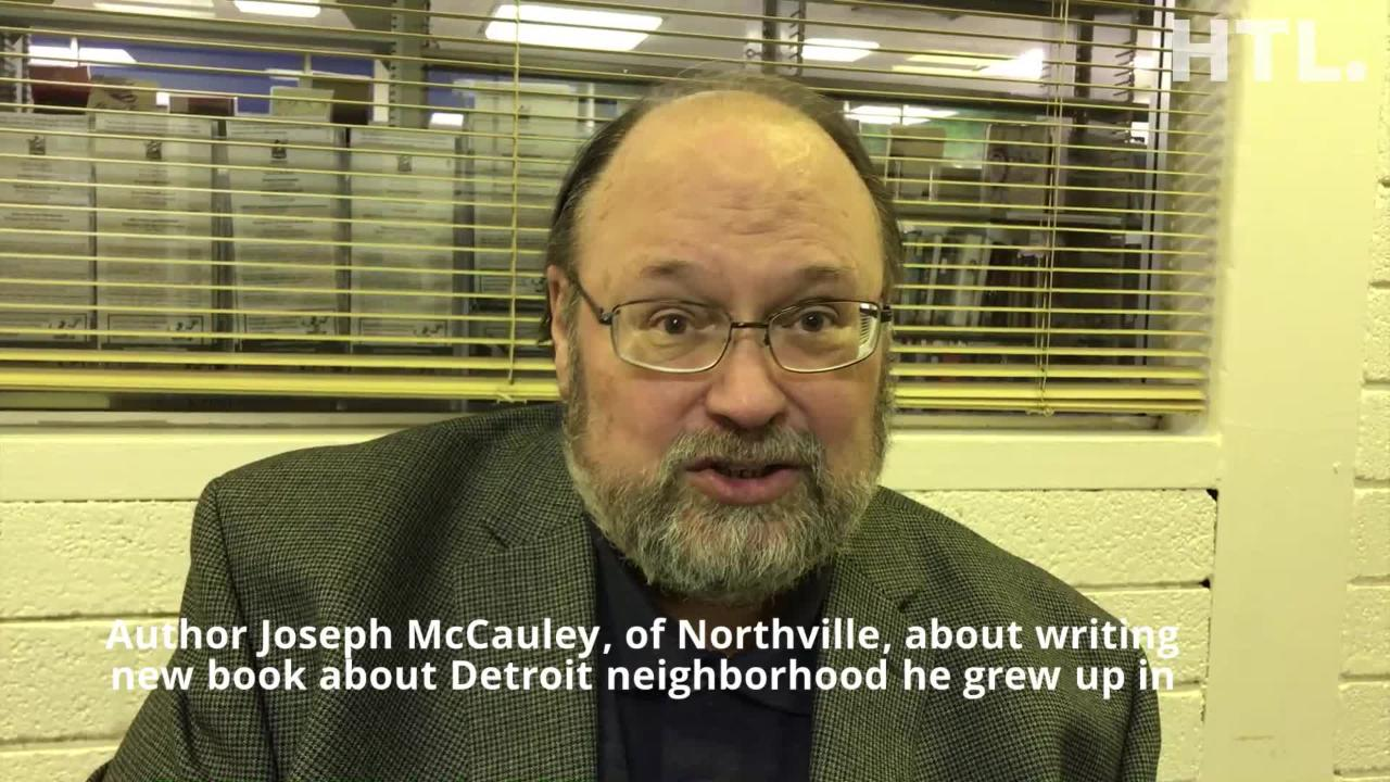 The Grand River-Greenfield area of Detroit - known as the 48227 - is chock full of historical nuggets uncovered by author Joseph McCauley.
