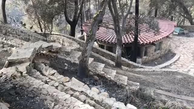 Here's a look at some of the damage caused by the Woolsey Fire in and around Leo Carrillo State Beach.