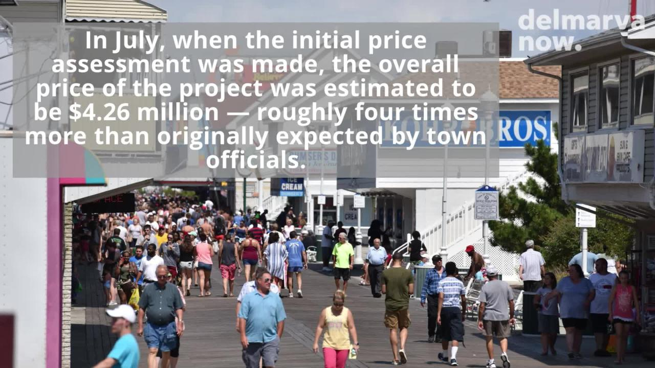 WATCH: Ocean City finds out how much Boardwalk safety project will cost