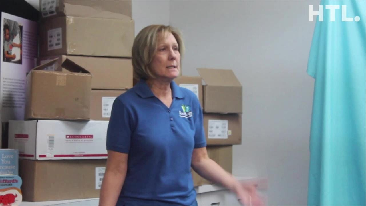 Livonia-based Seedlings Braille Books for Children accepted a donation of thousands of books from UPS Stores across Southeast Michigan.