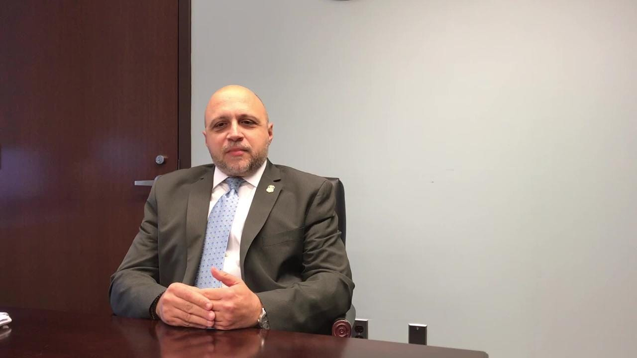 John Tsoukaris, the field office director for ICE Enforcement and Removal Operations in Newark, discusses Middlesex County Jail's immigration policy.