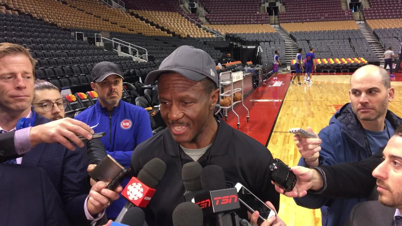 Dwane Casey It Feels Good to Be Back in Toronto. Toronto Raptors logo