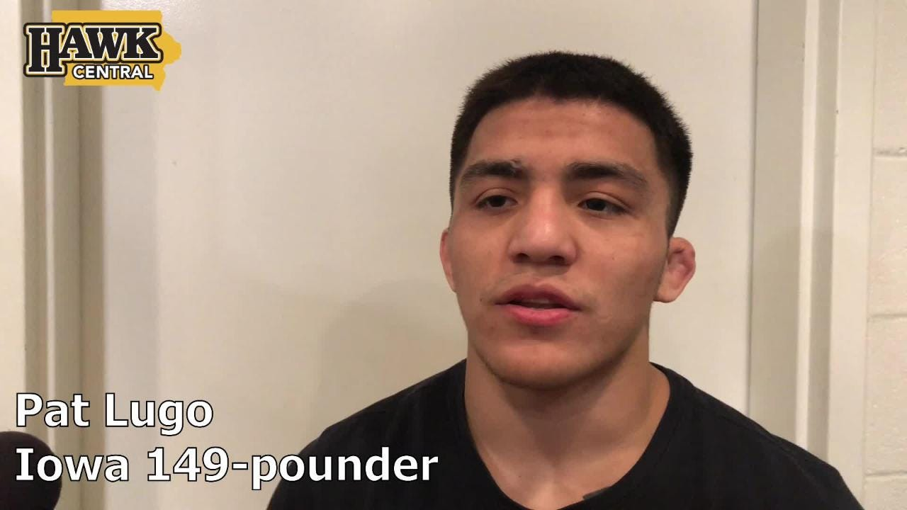 Iowa's Pat Lugo discusses what he learned after last weekend's loss