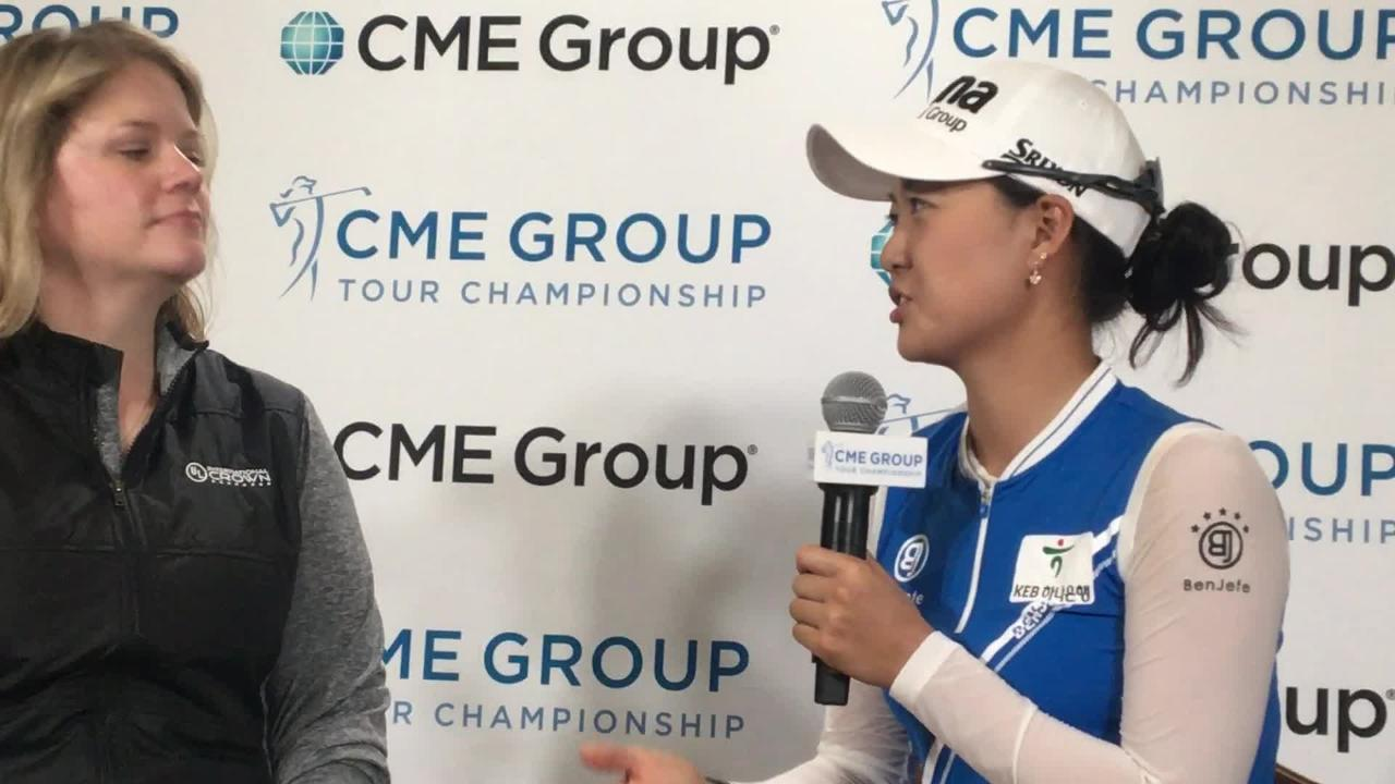 Australian Minjee Lee looks to move to top