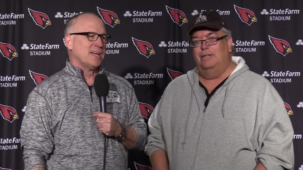 azcentral sports' insiders Kent Somers and Bob McManaman report from Cardinals camp on Wednesday.