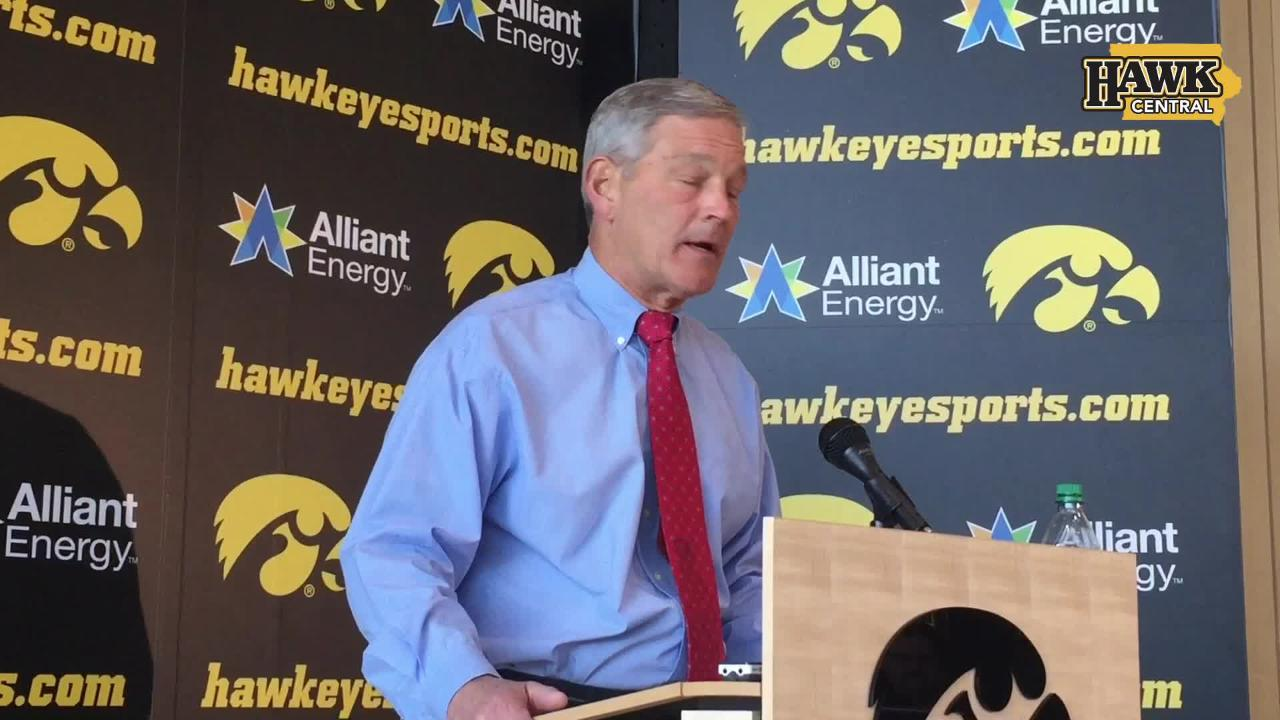 Iowa head coach Kirk Ferentz discusses the big-picture fork in the road ahead after three losses by a combined 12 points.