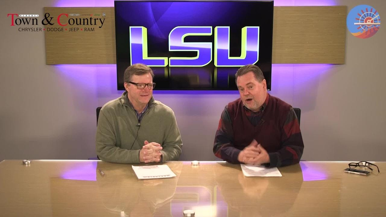 LSU is favored to beat Rice by 44 points. Glenn Guilbeau and Kevin Foote reflect on that as well as LSU trying not to score late at Arkansas.