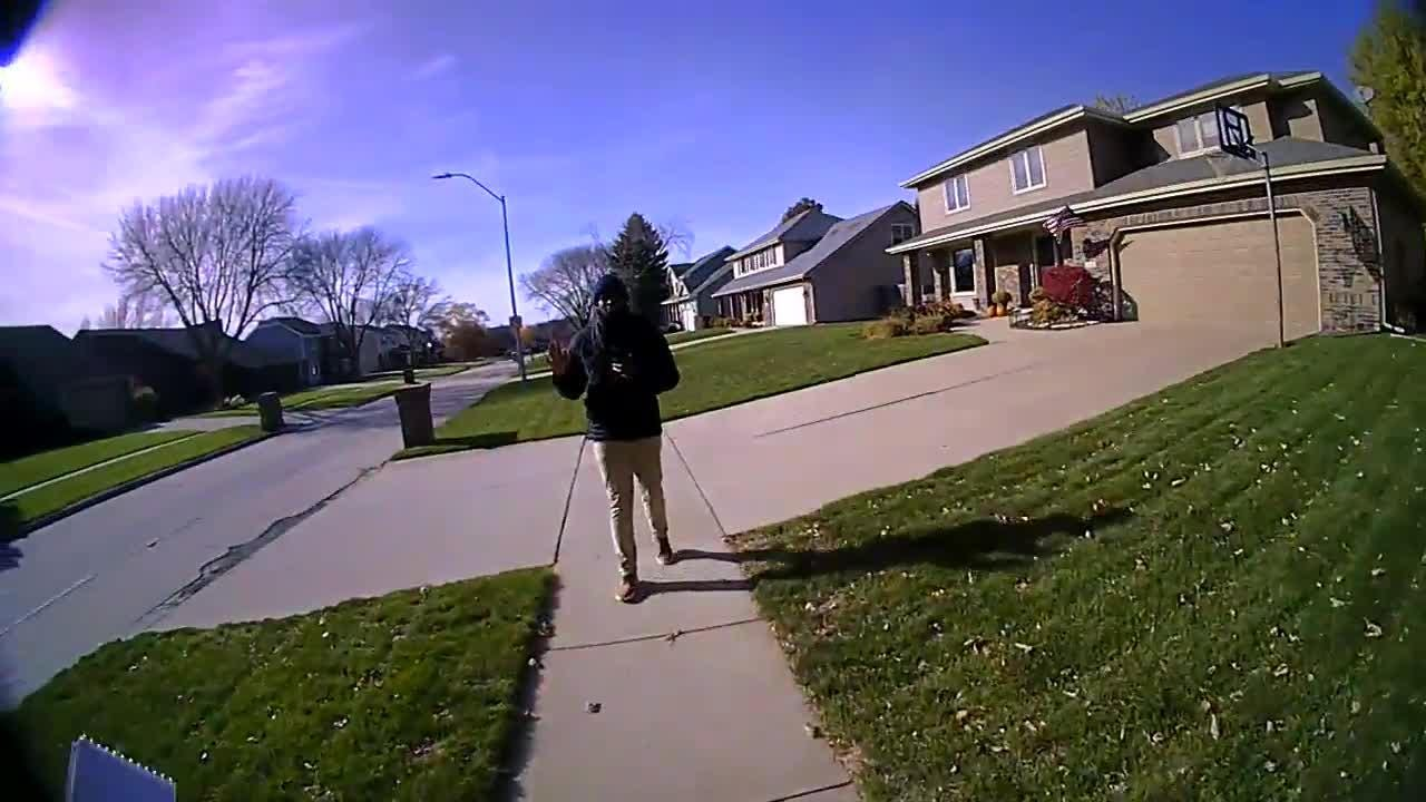 A black campaign worker canvassing in West Des Moines for Rep. David Young was arrested after he refused to identify himself or answer questions from officers who had received a complaint.