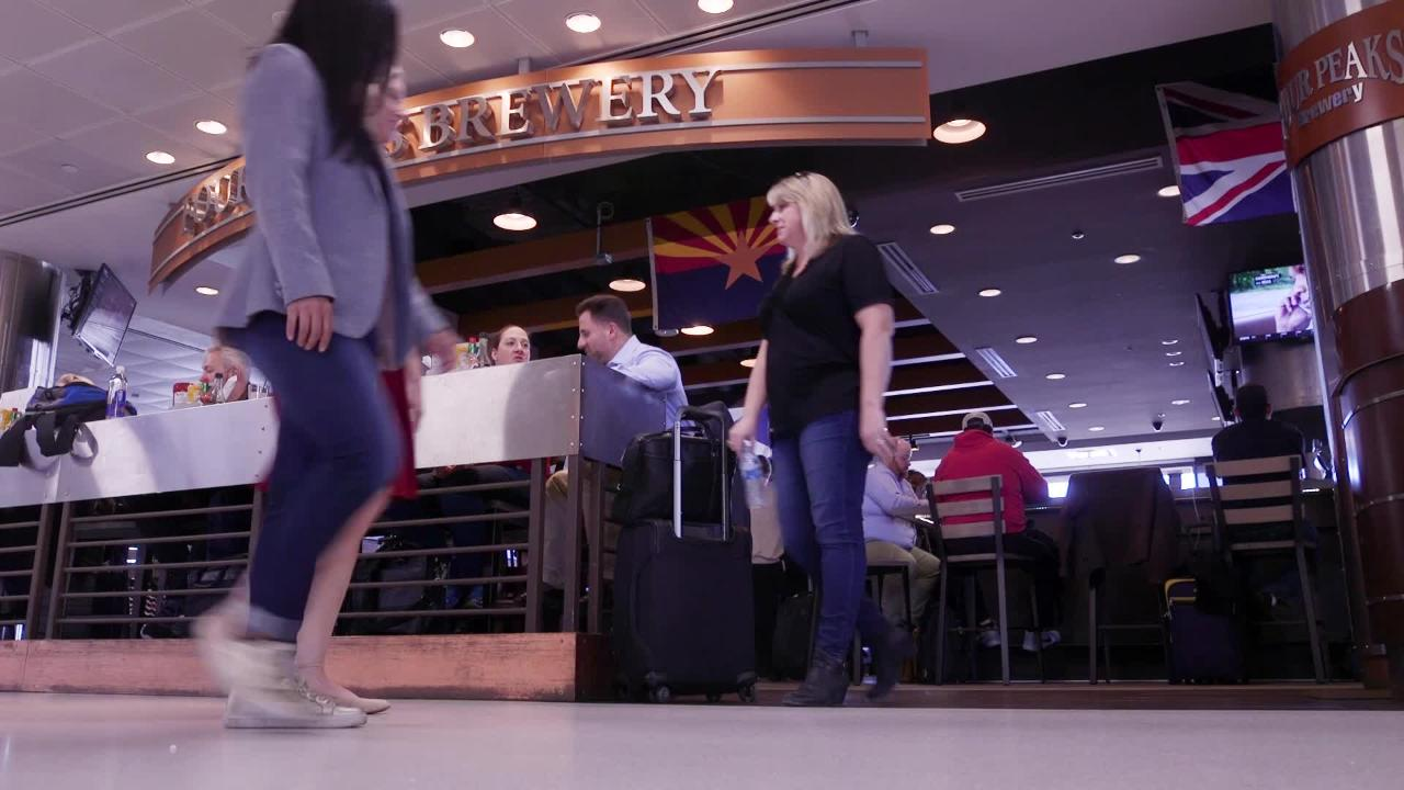 Azcentral.com travel reporter Melissa Yeager and dining reporter Lauren Saria show you the best places to eat at Phoenix Sky Harbor International Airport.