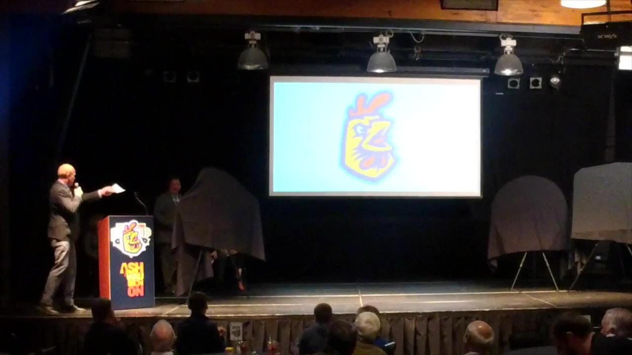 Watch a condensed version as Green Bay's Northwoods League team unveils, explains its new name.