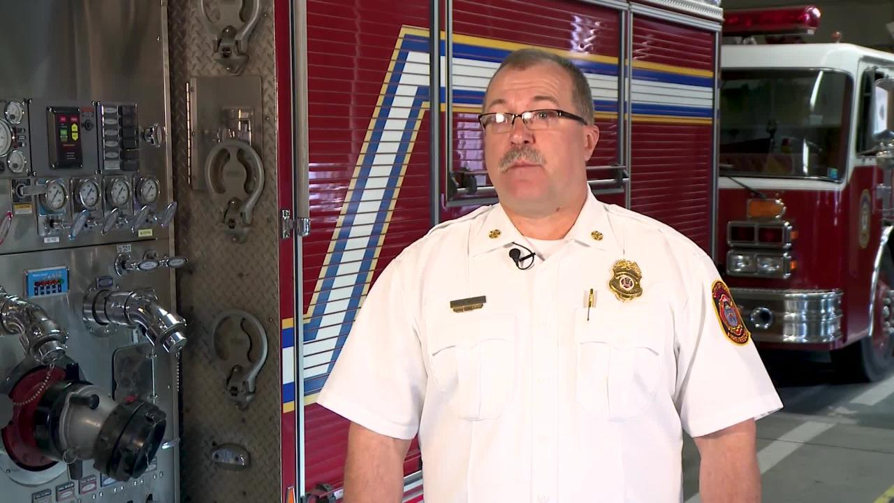 Local Heroes: York City fire chief's bravery honored with leadership award