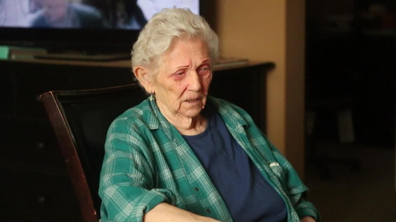 Mary Dennis describes her fall and the pain after visiting Vee Quiva Casino.