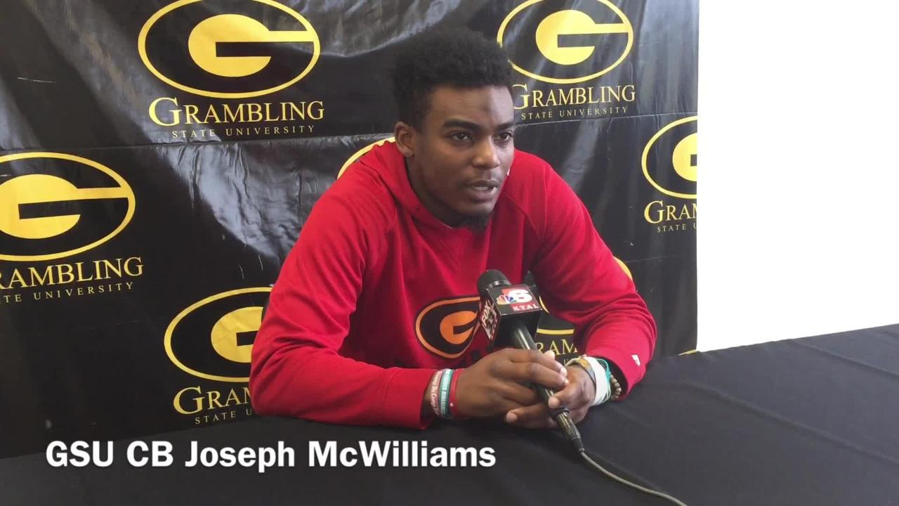 Grambling State's Joe McWilliams explain his play's turnaround