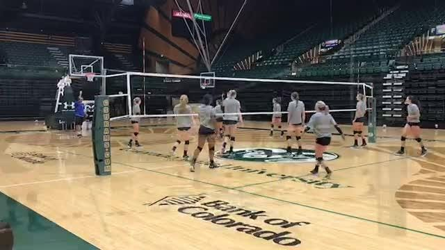 CSU volleyball getting ready to win Mountain West title