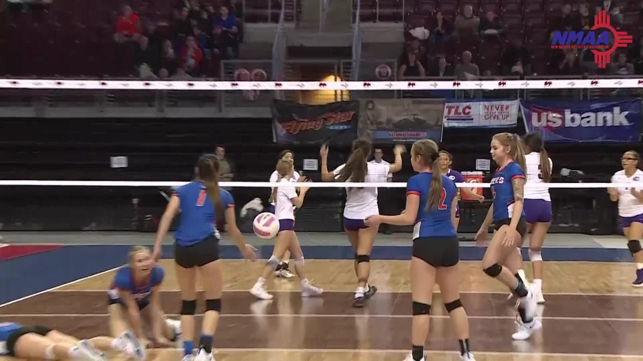 Broncos lost to Los Lunas in 4 sets Thursday, while Panthers lost to Eldorado in 4 sets