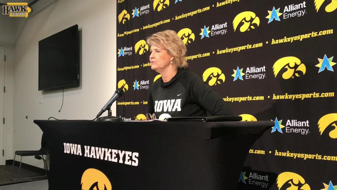 Lisa Bluder breaks down what's gone well through Iowa's first two games