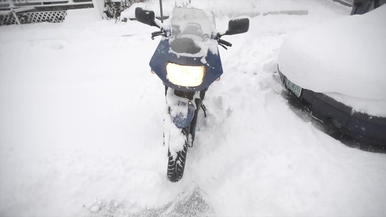 Burlington both embraced and grumbled a little during the first big snow storm of the season in Vermont.