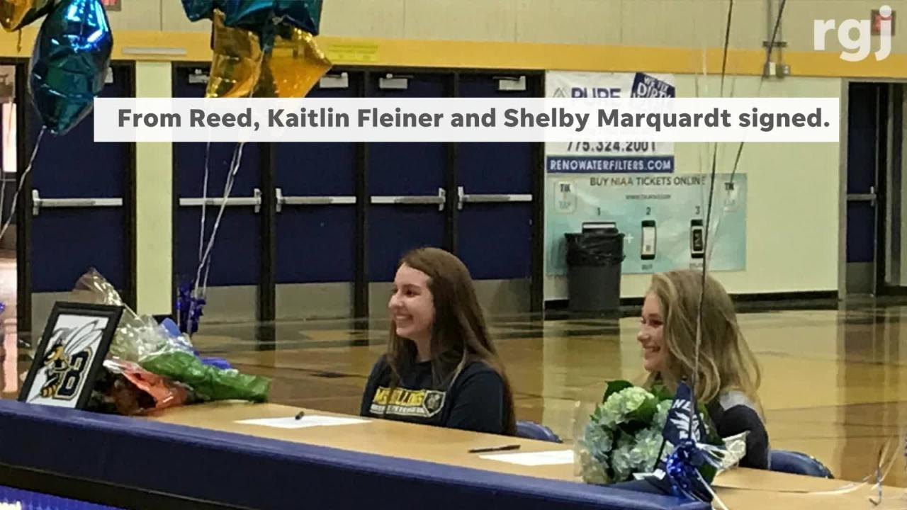 The early signing period for college-bound athletes began Wednesday