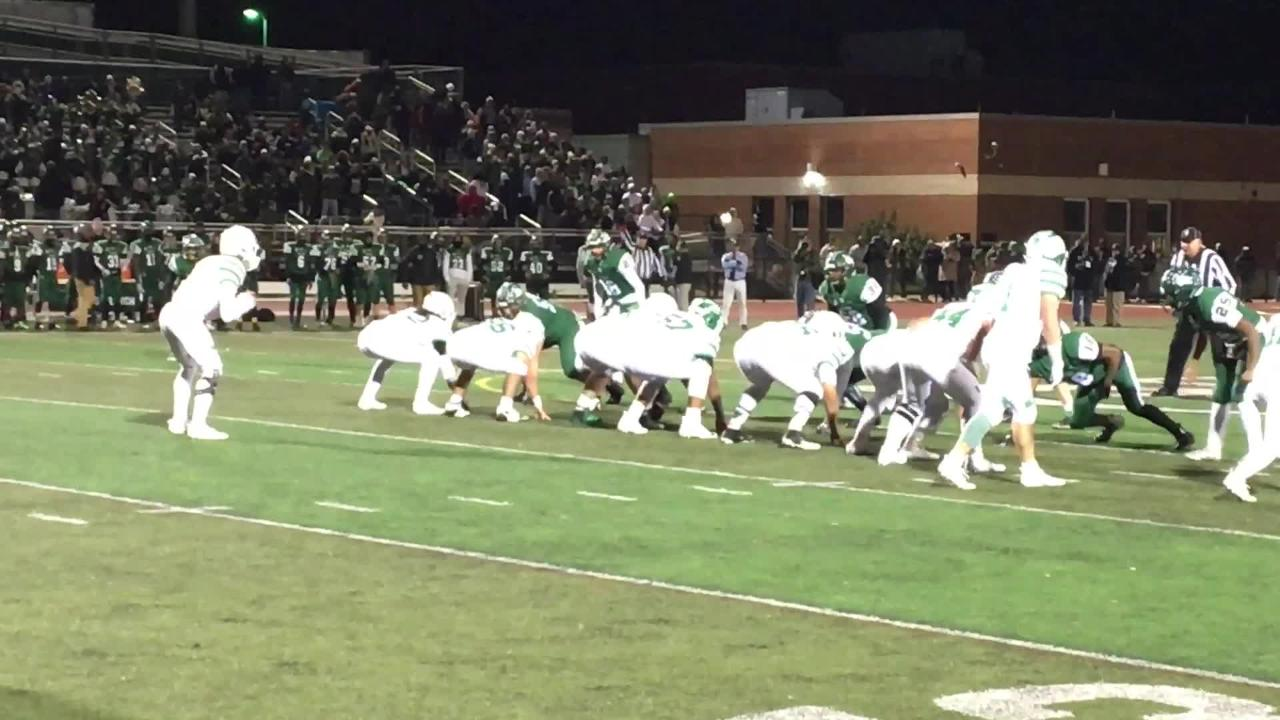 NJ football: First half highlights from NJSIAA Central Group IV Final
