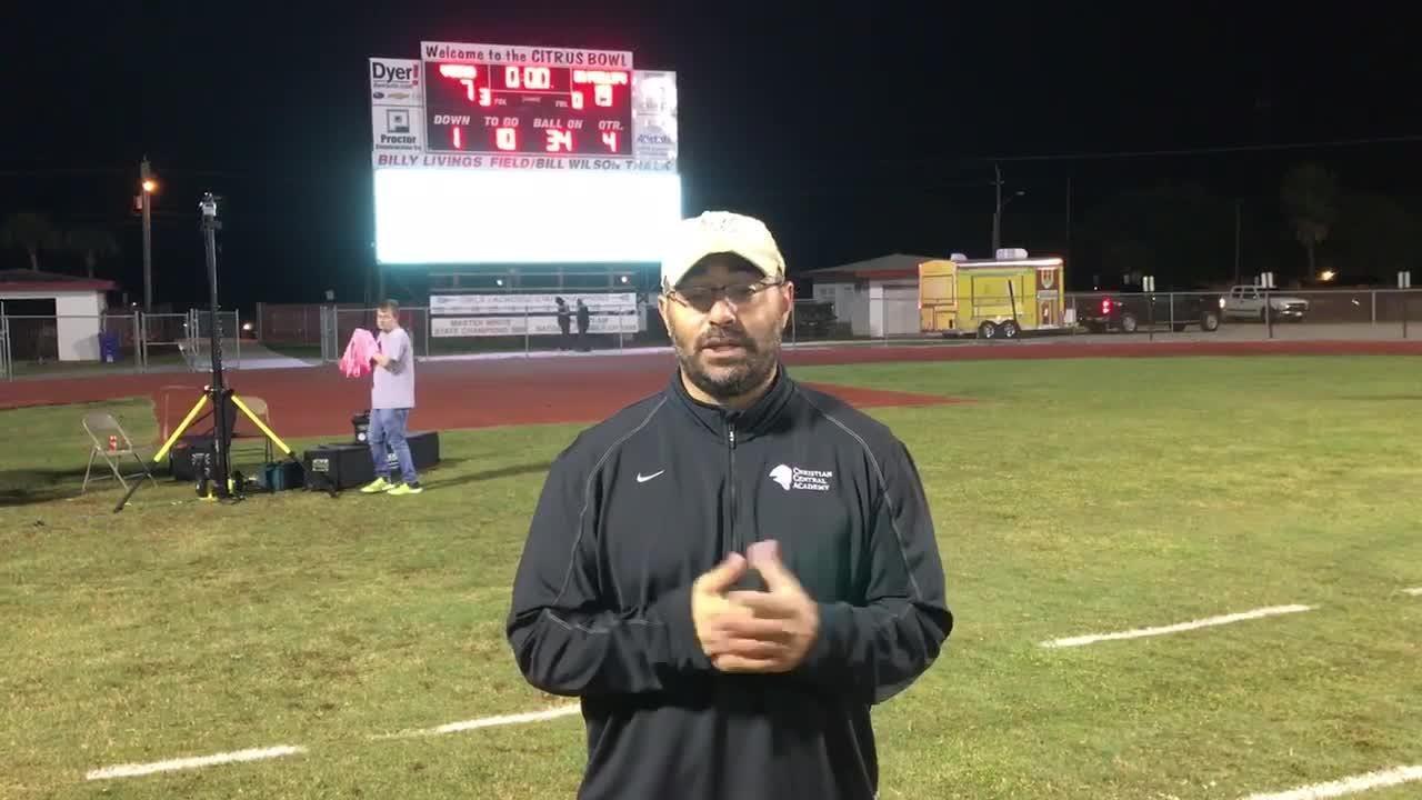 Dr. Phillips defeated Vero Beach on Friday, Nov. 16, 2018