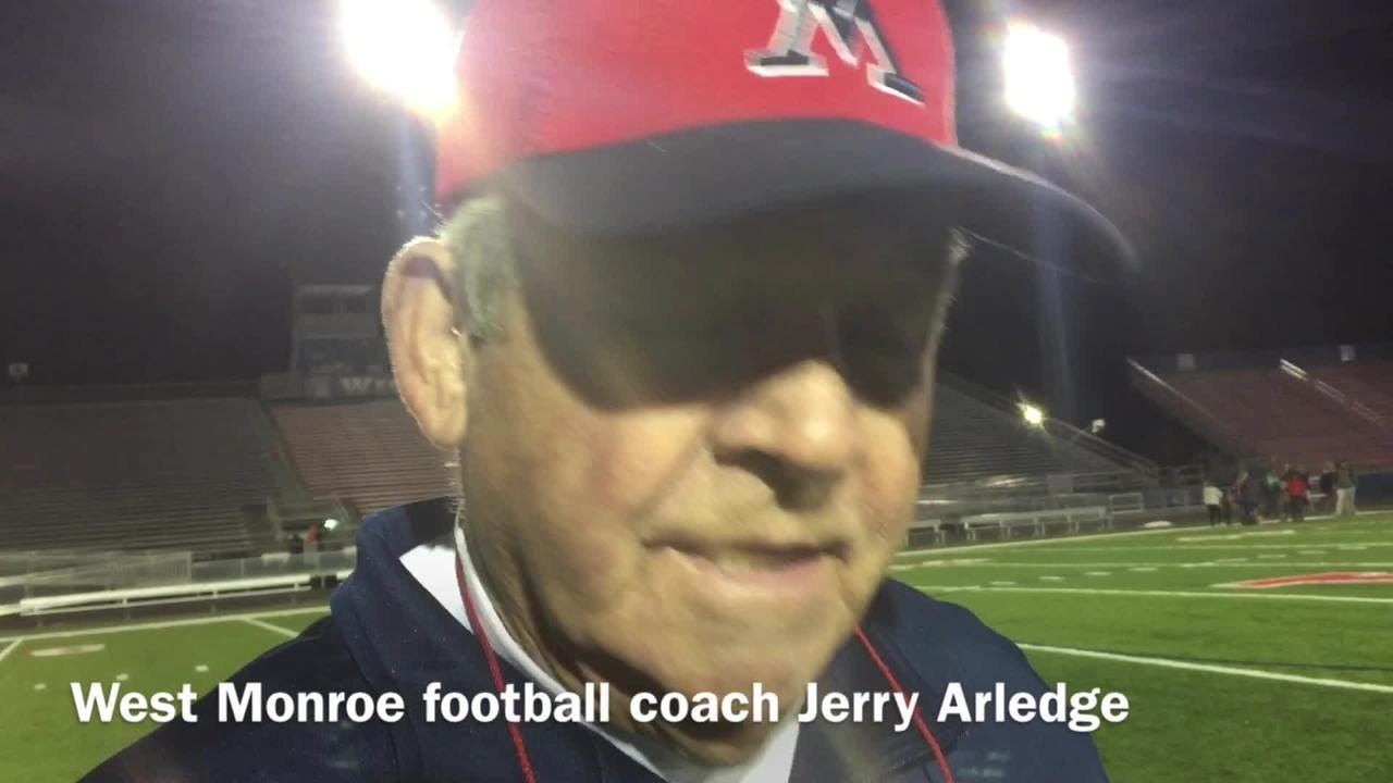Jerry Arledge believes West Monroe broke Captain Shreve's will early