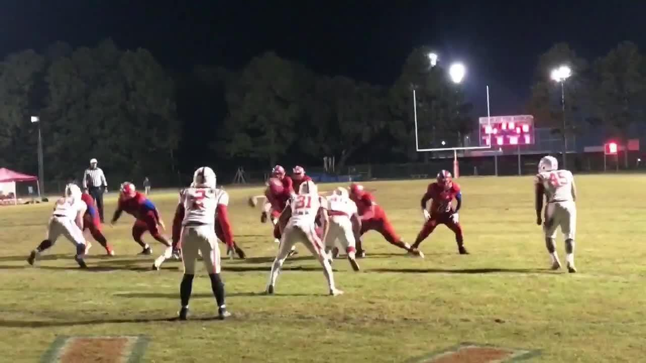 WATCH: HS football highlights from the playoff games in the Pensacola area
