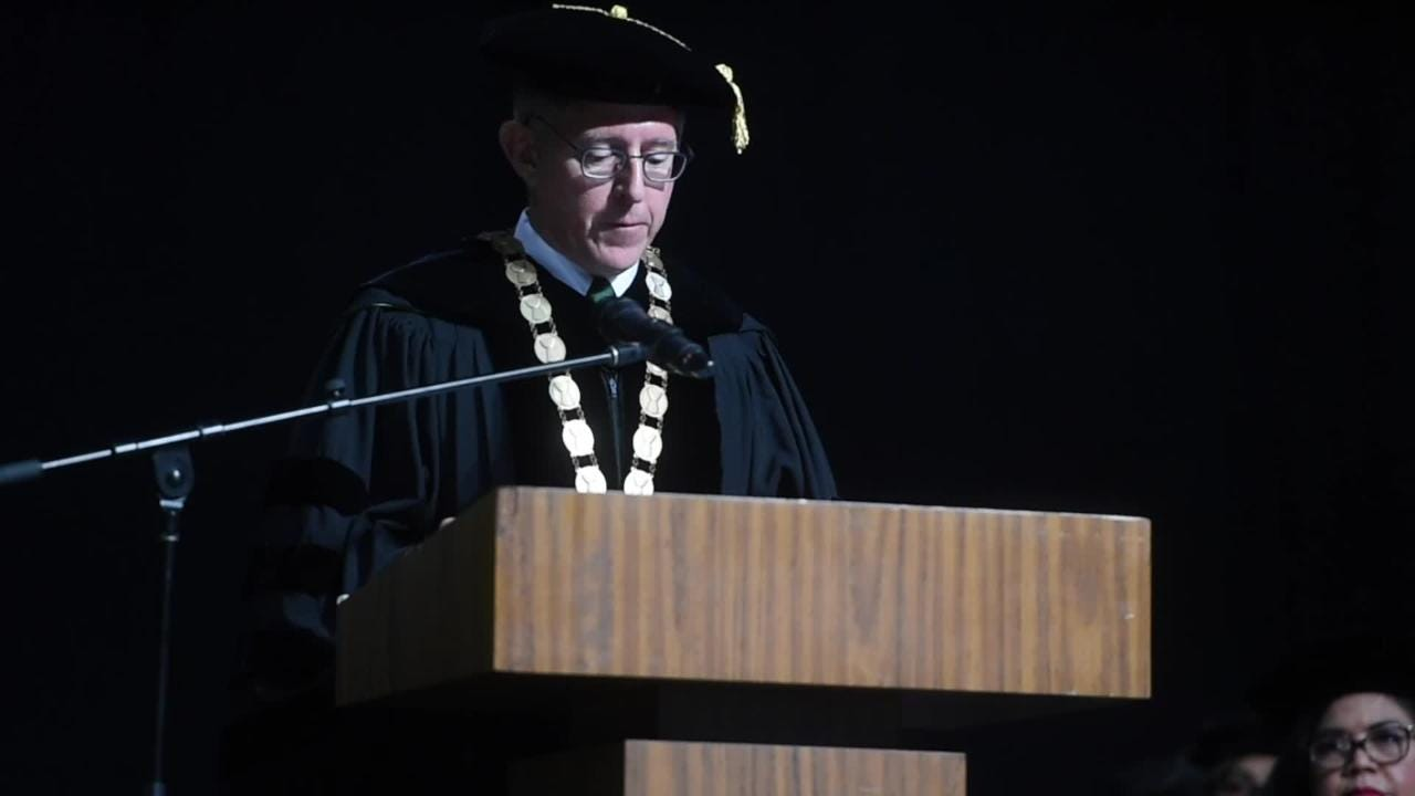 UOG President Thomas Krise honored by dignitaries and university community