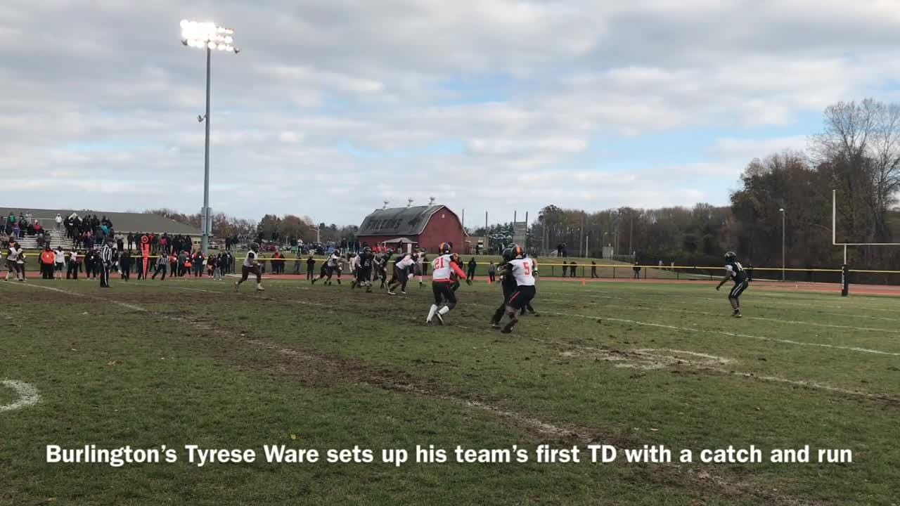Highlights of Woodrow Wilson's 22-14 victory over Burlington Township in the South Jersey Group 3 final
