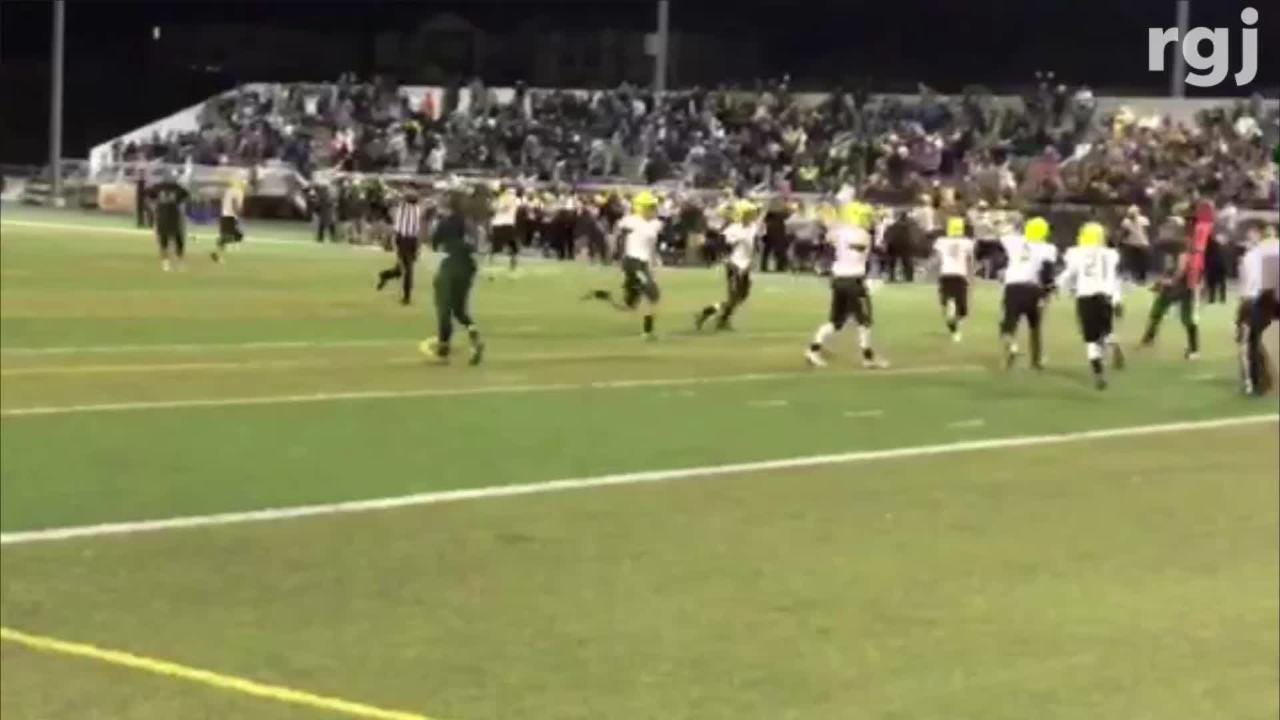 Bishop Manogue won the Northern 4A football Regional championship