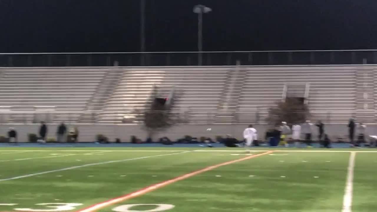 Millburn nearly scores the game-tying goal in the final seconds of the Group 3 final.
