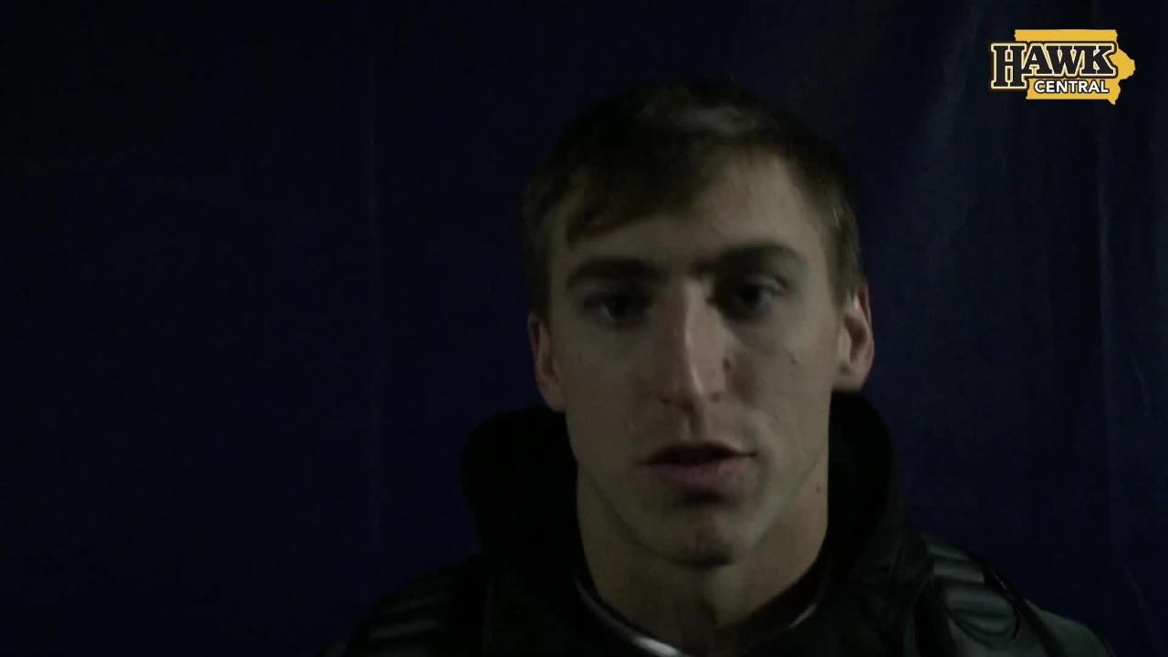 Kyle Groeneweg relishes his big Iowa moment: A 61-yard punt-return touchdown