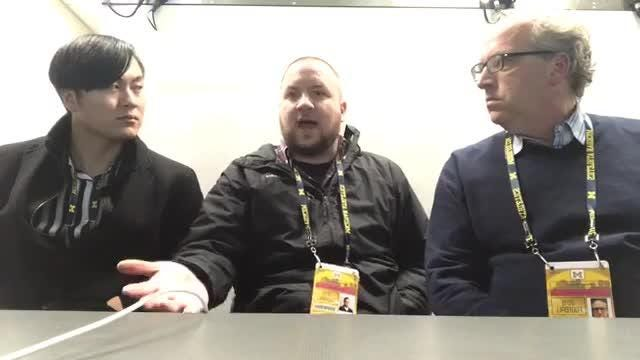Free Press writers Orion Sang, Nick Baumgardner, Shawn Windsor discuss U-M's win over Indiana, give their initial thoughts on OSU game, Nov. 17, 2018.