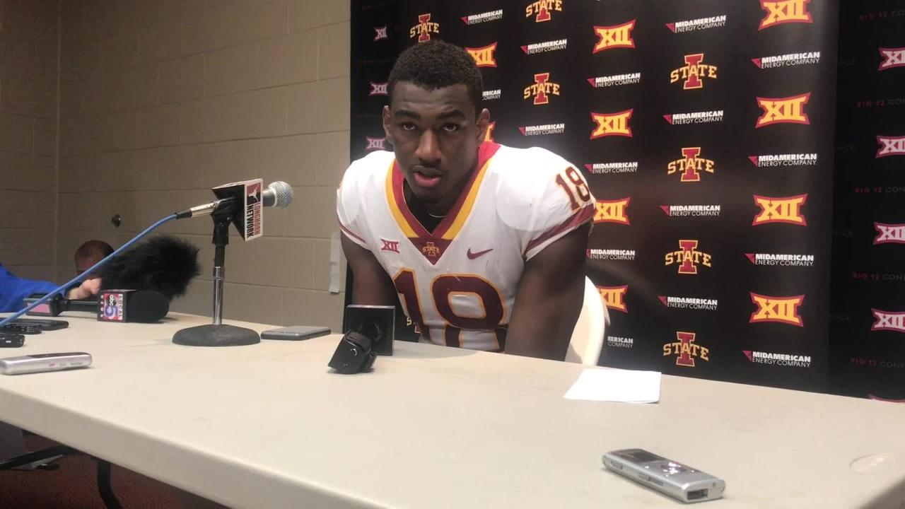 Hakeem Butler on what went wrong for Iowa State against Texas