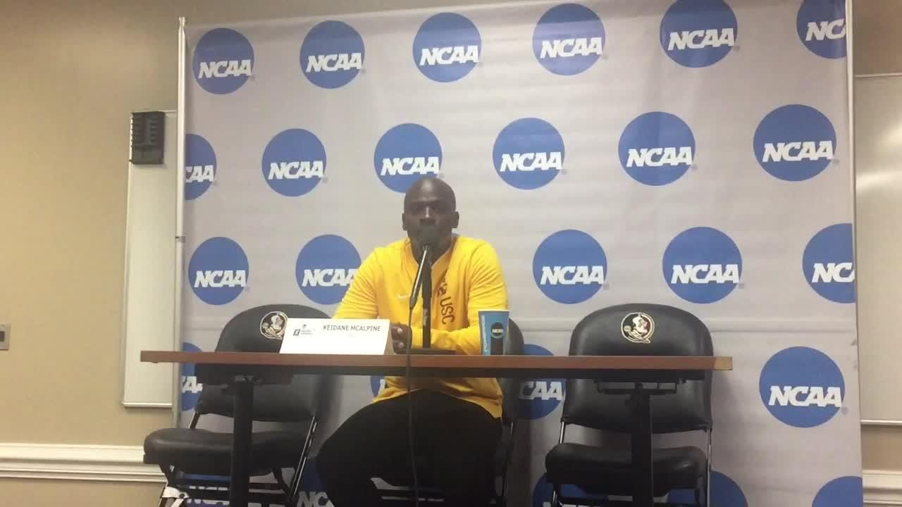 Watch it: USC coach Keidane McAlpine talks after the PKs loss to FSU