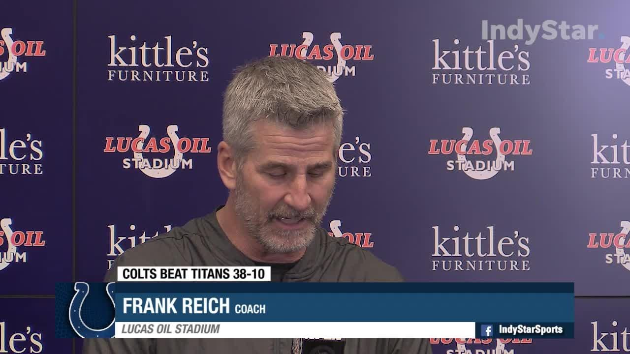Reich - Colts had 'the best defense on the field'