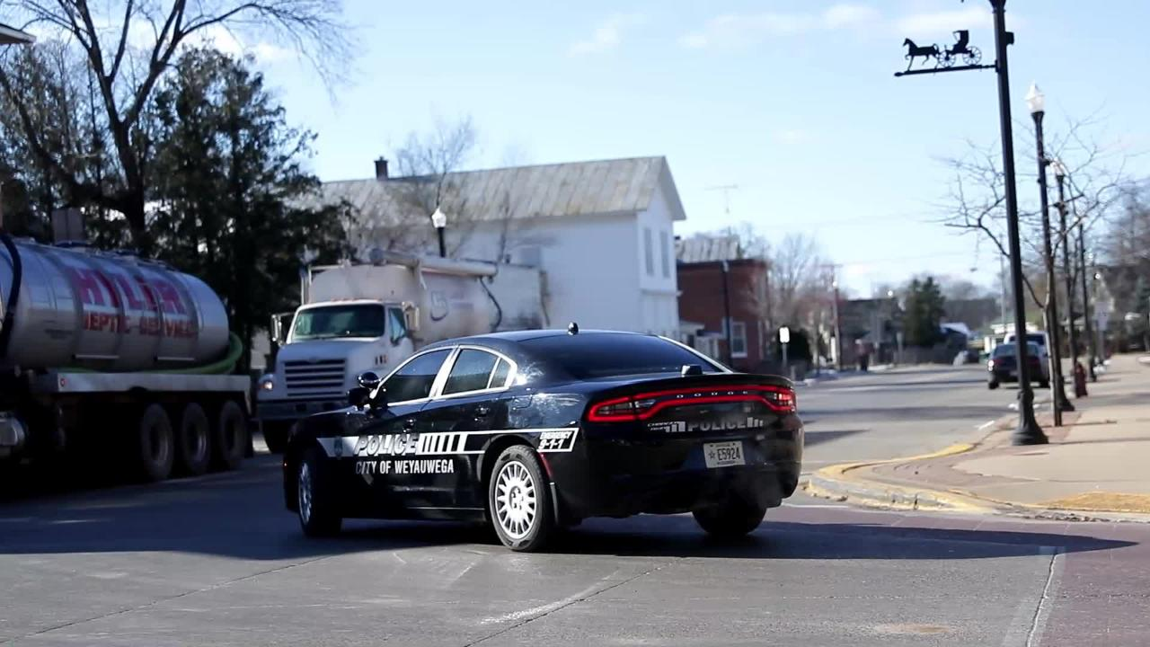 Police officers in the city of Weyauwega, Wis. find comfort and challenges working in the community of about 2,000 people.