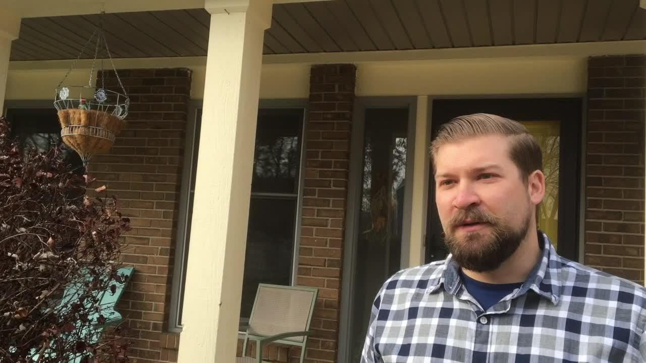 Family upset about thoroughfare - Says it's unsafe