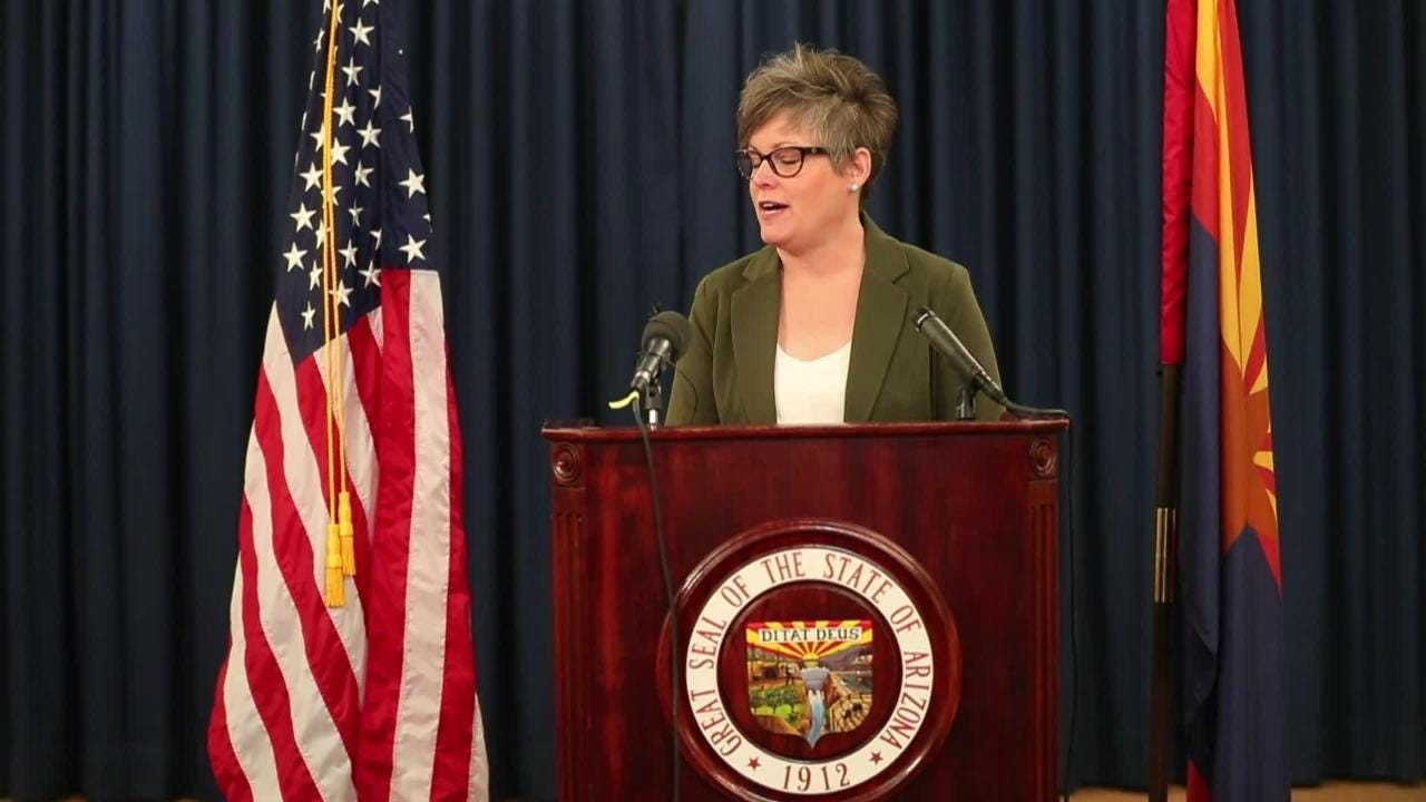 Secretary of State-elect Katie Hobbs pledges not to support any candidate or ballot measures while serving as the state's second in command.