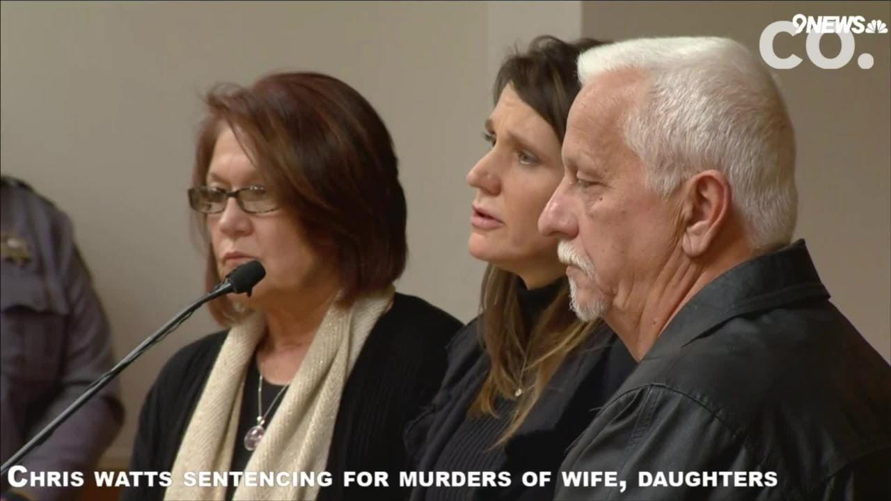 Chris Watts' parents, Cindy and Ronnie, said they forgive their son but didn't ask for leniency in his sentencing.