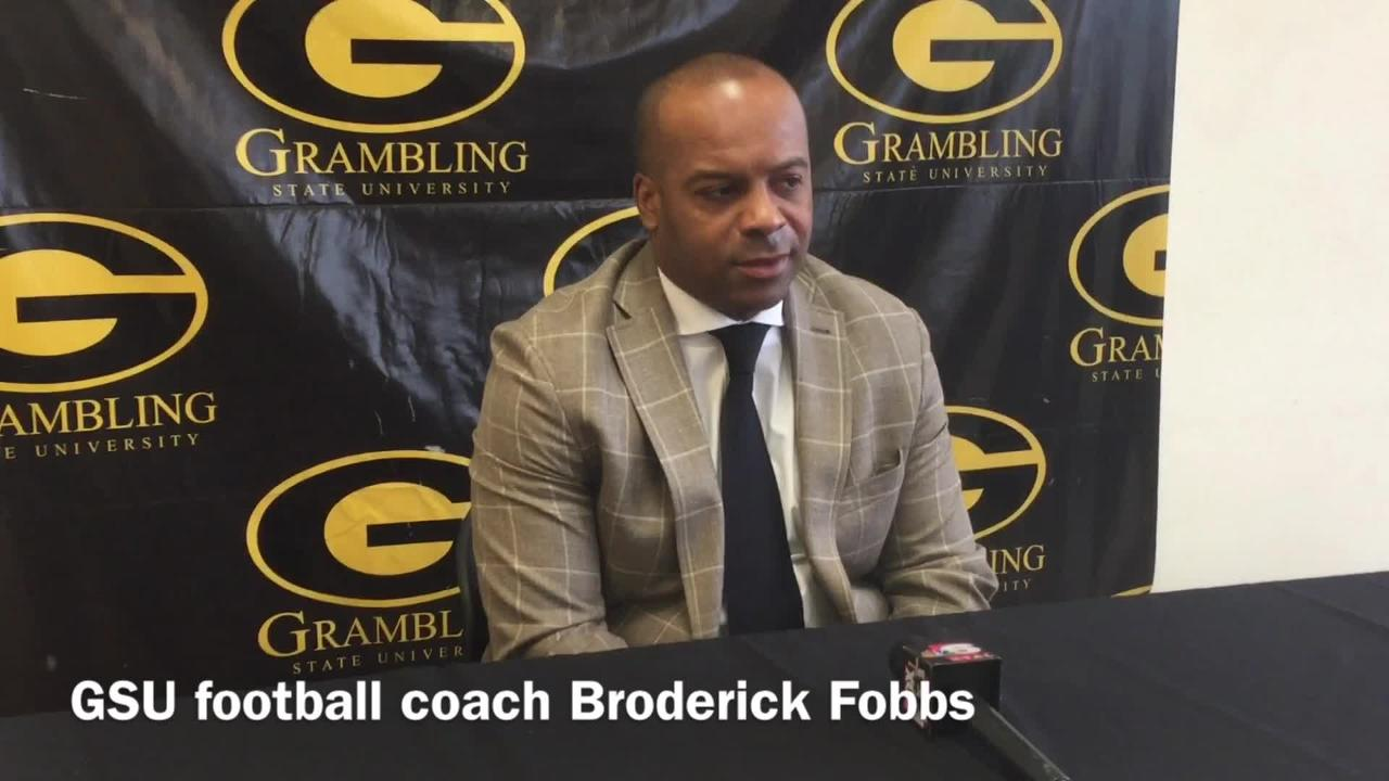 Broderick Fobbs describes Grambling's rejuvenation going into Bayou Classic