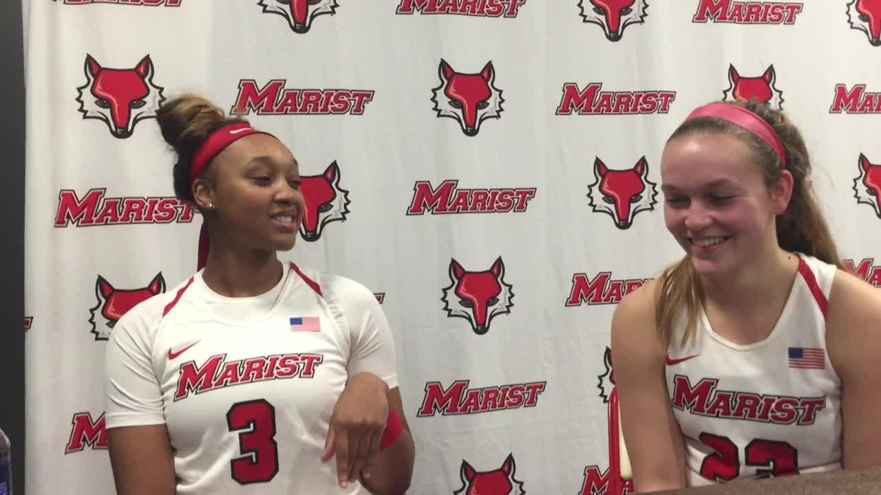 Rebekah Hand and Alana Gilmer talk about the Red Foxes' trip to Nashville and their favorite Thanksgiving foods.