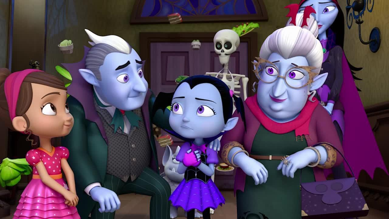 Go behind-the-scenes as Broadway stars Patti LuPone and Brian Stokes Mitchell turn into animated vampires in Disney Junior's 'Vampirina.'