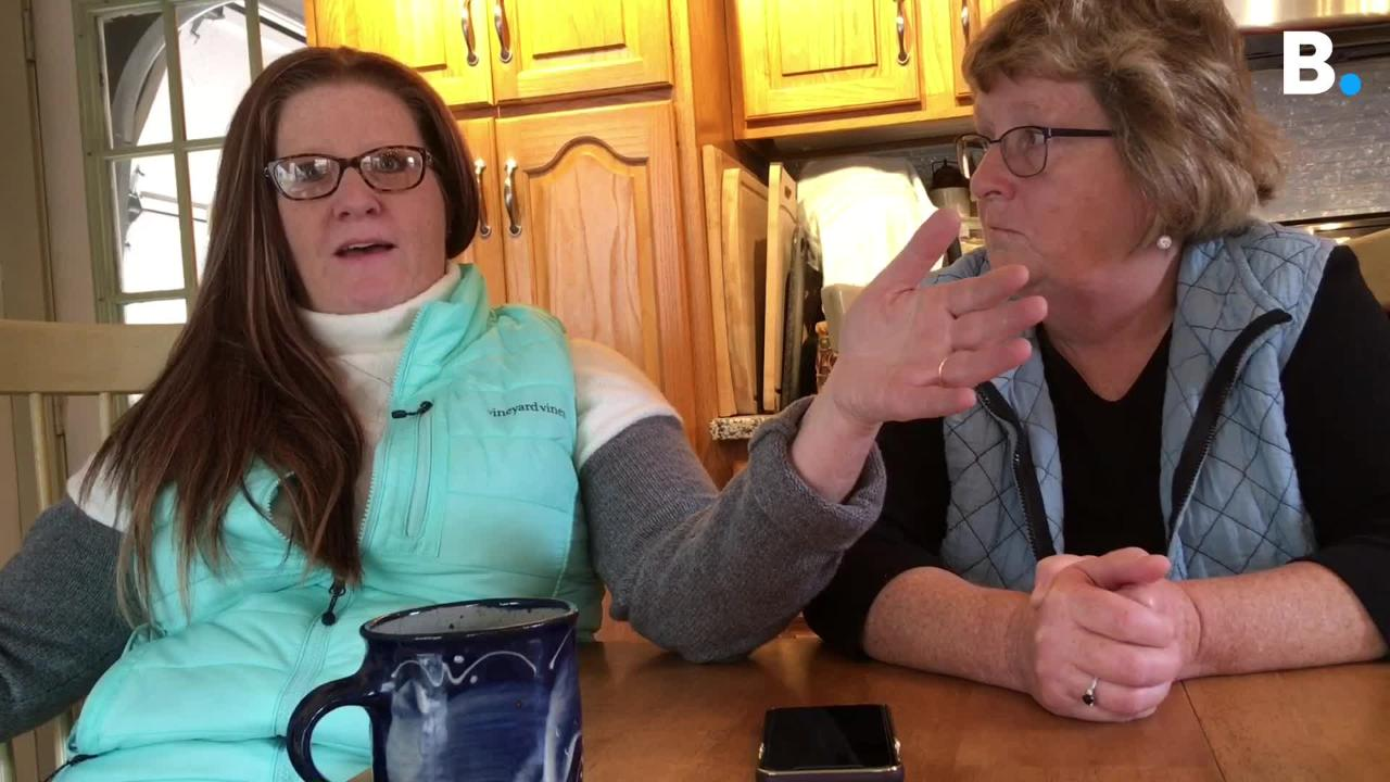 Former Vermont inmate Bobby Hutt's sisters speak about how they pushed for his medical release. Hutt died at home on Oct. 27, 2014.