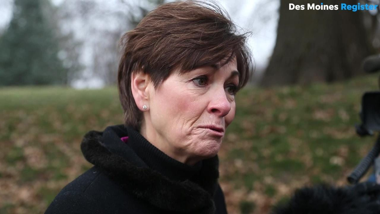 Gov. Kim Reynolds floats the possibility of automatically restoring voting rights to felons in Iowa, a move that could affect about 52,000 people in the state.