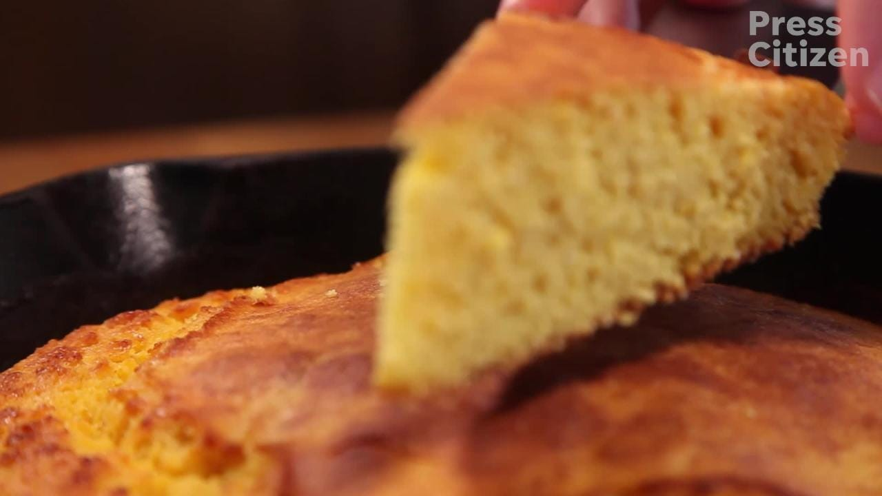A simple, savory cornbread that gets its flavor from two steps: the simple cornmeal batter frying in hot fat and then sitting in the oven to rise.