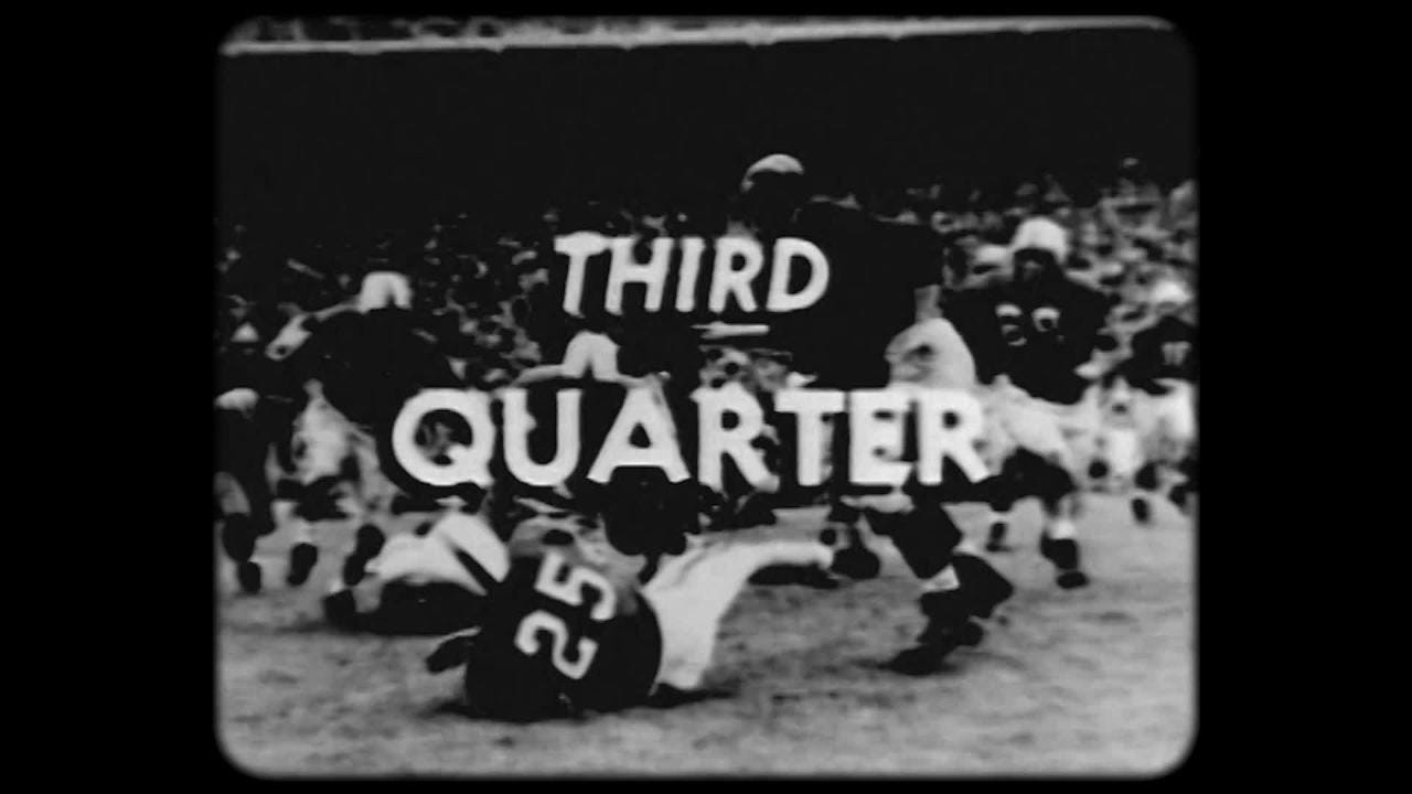 When the Michigan Wolverines met the Ohio State Buckeyes in 1950, a blizzard of epic proportion left both teams struggling. Footage courtesy OSU.