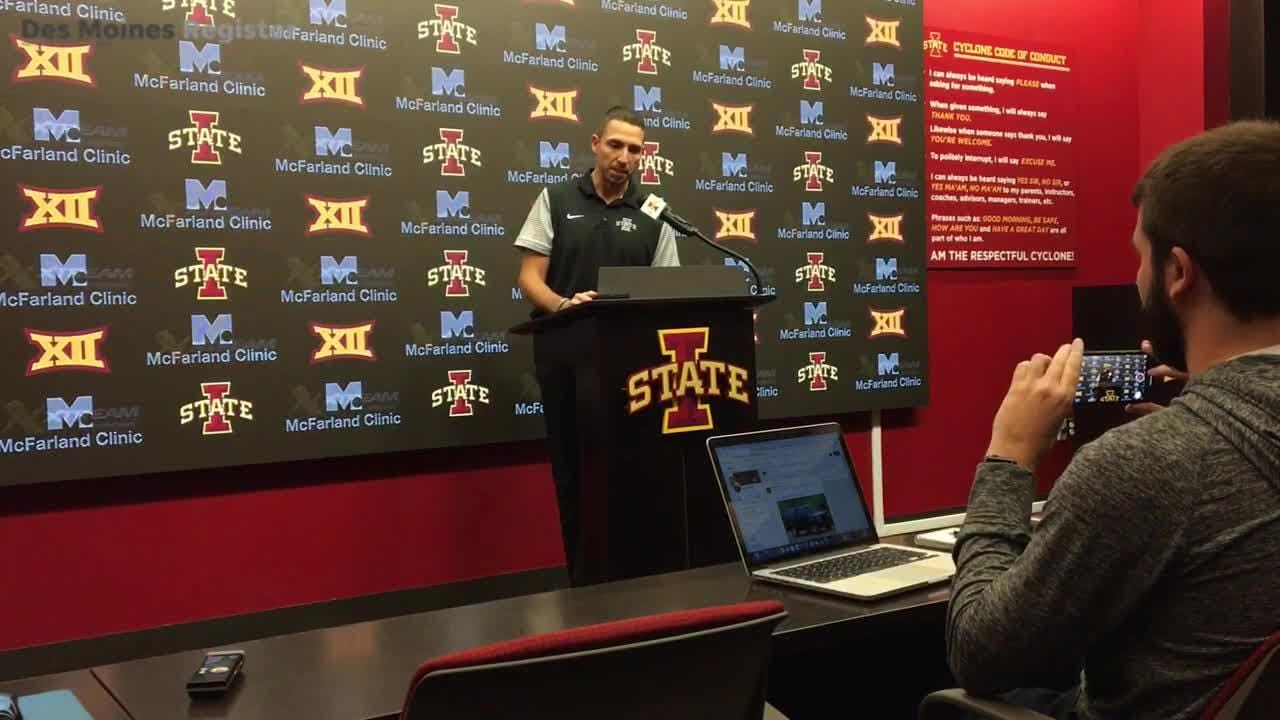 Iowa State's defense hasn't looked unbeatable lately. Matt Campbell talks about why.