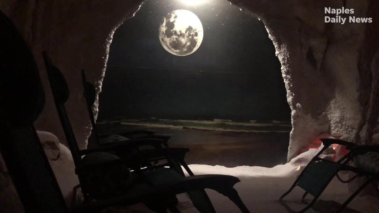 Video: Healthy bod - Breathe better, relax in Naples salt grotto