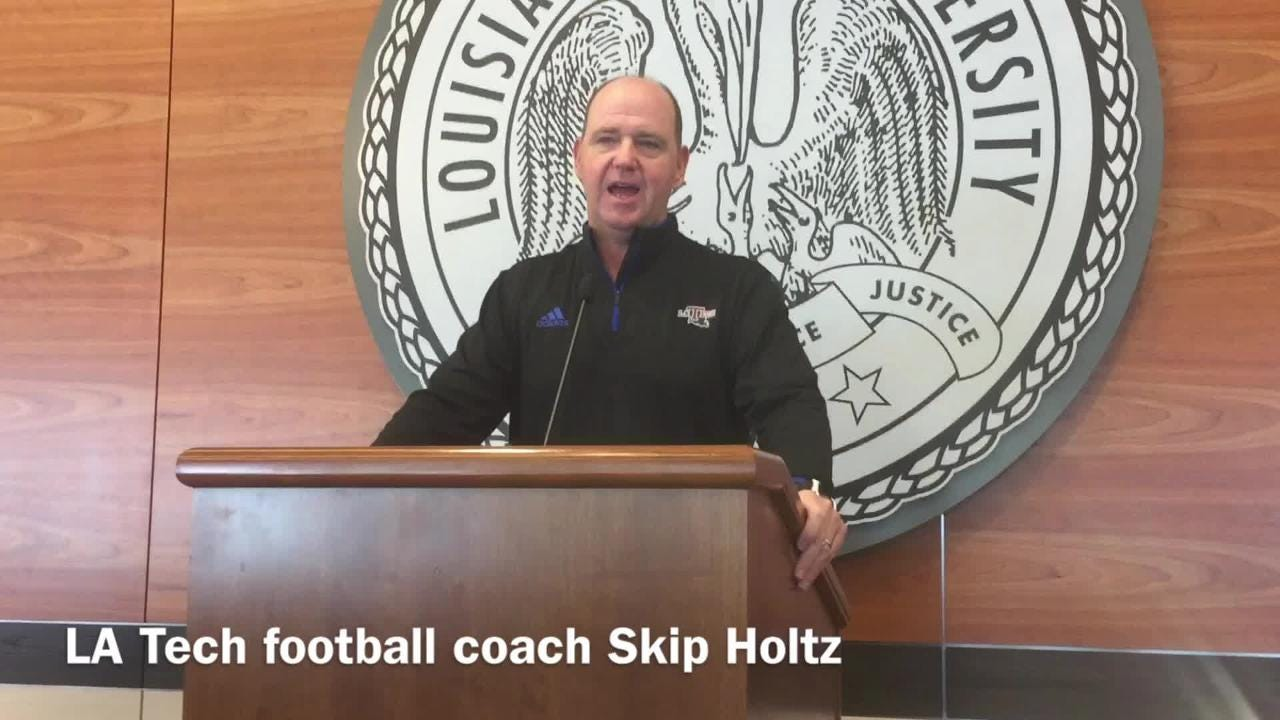 "Skip Holtz expects a ""hungry, angry"" Louisiana Tech team"