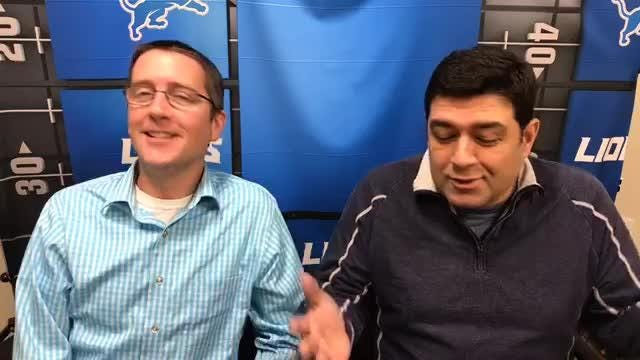 Free Press sports writers Dave Birkett and Carlos Monarrez preview the Detroit Lions' game against the Chicago Bears on Thanksgiving.